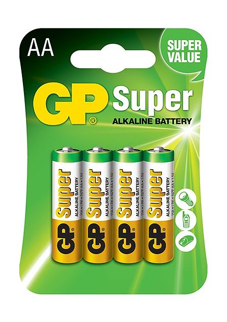 Элемент питания GP AALR06 Super Alkaline 2