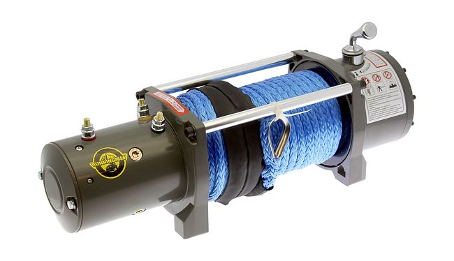 Лебедка для автомобиля Electric Winch EW12000P (12V, 12000Lb, 25m, 11mm полимер) 1