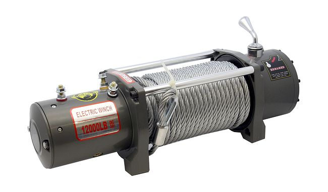 Лебедка для автомобиля Electric Winch EW12000S (24V, 12000Lb, 28m, 10mm сталь) 1