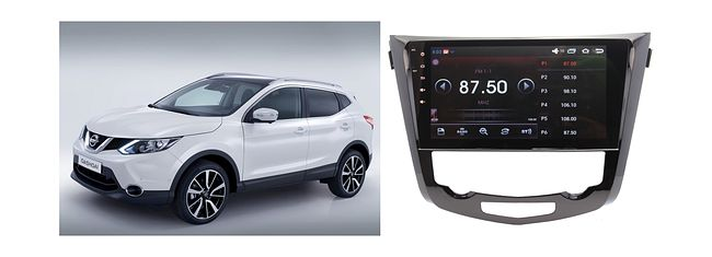 купить Штатная магнитола Nissan Qashqai, X-Trail 2014 + Wide Media WM-1008HD Android авто без Navi и 360 9