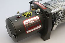 Лебедка для автомобиля Electric Winch EW12000S (24V, 12000Lb, 28m, 10mm сталь) 2