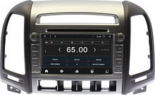 Штатная магнитола Hyundai SantaFe  2010 - 2012 Wide Media WM-KR7031MA-1/16b 4 кнопки