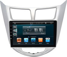 Штатная магнитола Hyundai Solaris 2010 - 2016 Wide Media WM-MFB021 Android