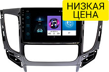 Штатная магнитола Mitsubishi L200 2015 - 2018 Wide Media LC9338MN-1/16 (для авто с климат-контролем)