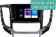 Штатная магнитола Mitsubishi L200 2015 - 2018 Wide Media LC9338ON-2/32 (для авто с климат-контролем)
