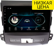Штатная магнитола Mitsubishi Outlander 2007 - 2012 Wide Media LC9058MN-1/16 для авто с Rockford