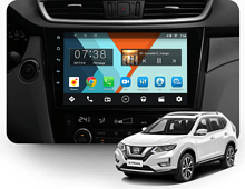 Штатная магнитола Nissan Qashqai, X-Trail 2014 + Wide Media MT1009NF-2/16 авто без Navi и 360