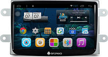 Штатная магнитола Renault Duster 2014 + Ksize DVA-PH8700 Android