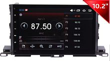 Штатная магнитола Toyota Highlander 2014 + Wide Media WM-1042HDb Android