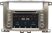 Штатная магнитола Toyota Land Cruiser 2003 - 2008 Wide Media WM-KR7083NC-2/16