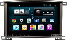Штатная магнитола Toyota Land Cruiser 2002 - 2007 Ksize DVA-PH2720 Android (1024*600)