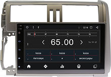 Штатная магнитола Toyota Land Cruiser Prado 150 2010 - 2013 Wide Media WM-CF3010T3 Android