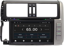 Штатная магнитола Toyota Land Cruiser Prado 150 2010 - 2013 Wide Media WM-CH7003M Android(с усил)