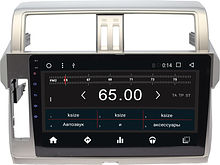 Штатная магнитола Toyota Land Cruiser Prado 150 2014 - 2016 Wide Media WM-CF3041MA-1/16 (-)
