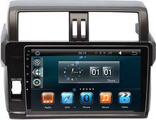 Штатная магнитола Toyota Land Cruiser Prado 2013 + Wide Media WM-MFA034bl Android (для авто без мон)