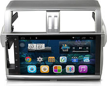 Штатная магнитола Toyota Land Cruiser Prado 2014 + Ksize DVA-PH2692 Android