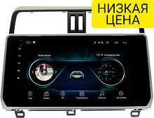 Штатная магнитола Toyota Land Cruiser Prado 2017+ Wide Media LC1038MN-1/16