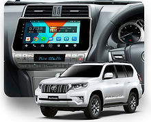 Штатная магнитола Toyota Land Cruiser Prado 2017+ Wide Media MT1038NF-2/16