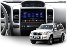 Штатная магнитола Toyota Land Cruiser Prado, Lexus GX 2002 - 2009 Wide Media AL9064PK-2/16 с усил.