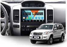 Штатная магнитола Toyota Land Cruiser Prado, Lexus GX 2002 - 2009 Wide Media MT9064NF-2/16 с усил.