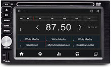 Универсальная бездисковая станция 2 din Wide Media WM-PH8720MB-1/16 Android